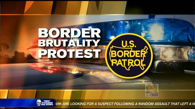 Victims' families protest against 'border brutality'