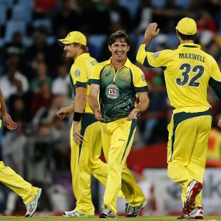 Australia end SA tour with T20 win