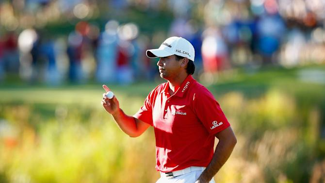 Golf - Day and Palmer share PGA playoff lead