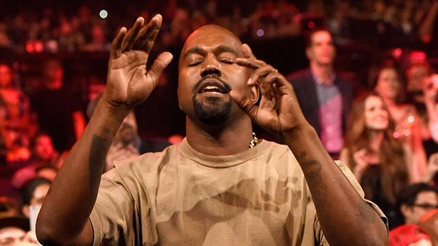 Kanye West Admits He's High and Announces Candidacy for President During VMA Vanguard Acceptance Speech