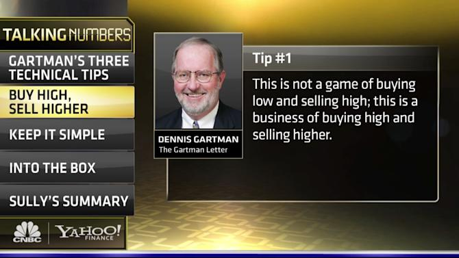 Gartman's Top Three Tips for Technical Analysis