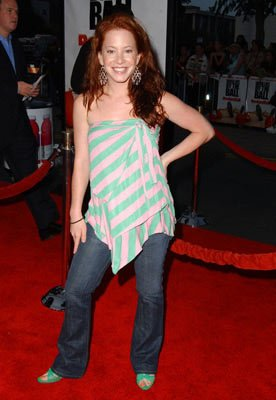 Amy Davidson at the Los Angeles premiere of 20th Century Fox's Dodgeball: A True Underdog Story