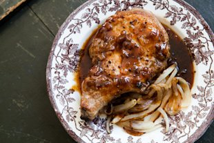 Vermont Maple Syrup Pork Chops