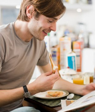 Steal these healthy habits from your guy!