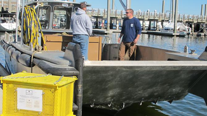 Winery experiments with aging wine in ocean off SC