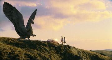 A scene from 20th Century Fox's Eragon