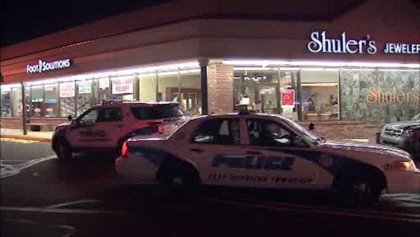 Stolen car found in jewelry store robbery/kidnapping