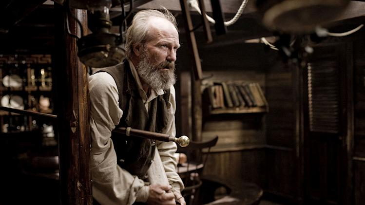 "William Hurt as Ahab in ""Moby Dick."""