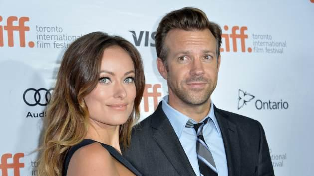 Olivia Wilde and Jason Sudeikis attend the 'Rush' premiere during the 2013 Toronto International Film Festival at Roy Thomson Hall on September 8, 2013 in Toronto -- Getty Images