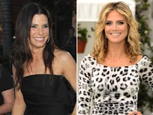 Sandra Bullock / Heidi Klum -- Getty Images