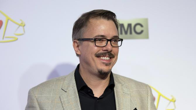 """Co-creator Gilligan poses at the premiere of the television series """"Better Call Saul"""" at the Regal Cinemas L.A. LIVE in Los Angeles"""