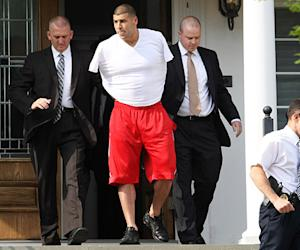 Aaron Hernandez Charged With Murder, Dropped From New England Patriots