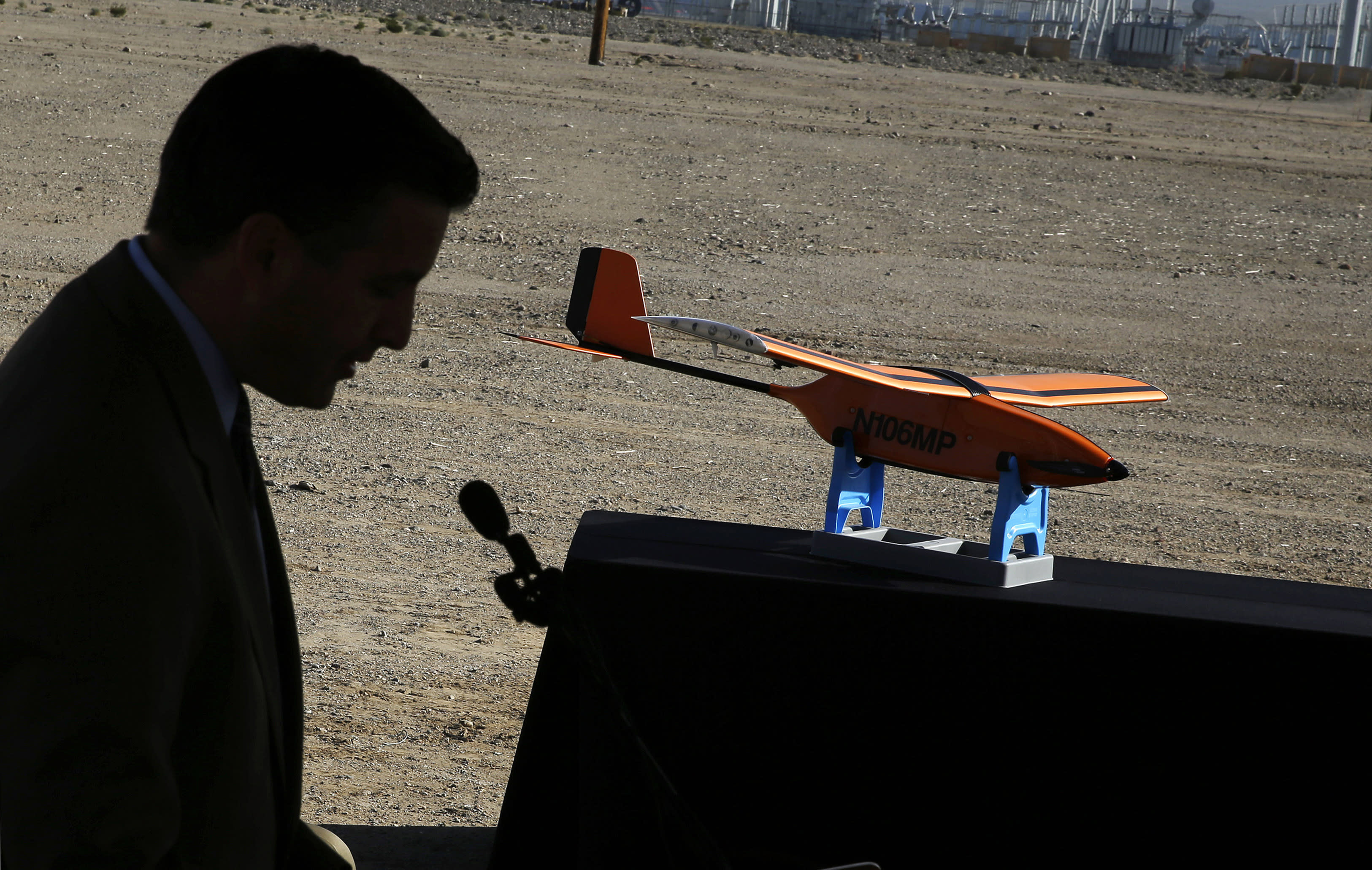 1st drone in Nevada test program crashes in demo