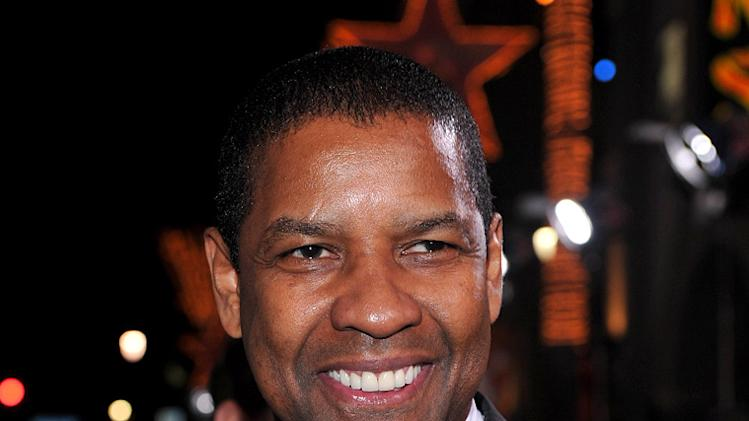 The Book of Eli LA premiere 2010 Denzel Washington