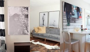 5 Ways to Display Large-Scale Family Photos