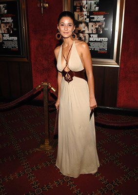 Emmanuelle Chriqui at the New York premiere of Warner Bros. Pictures' The Departed