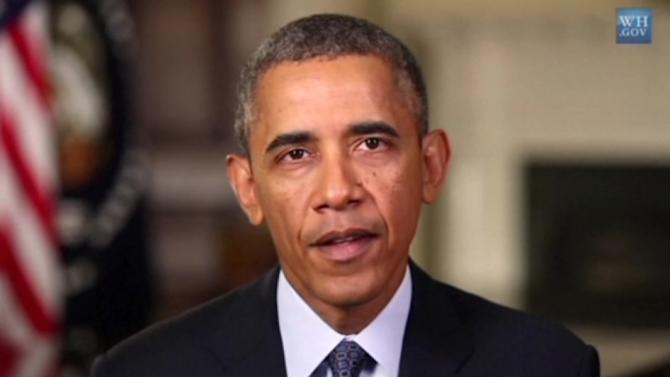 Obama says credible threat of force in Syria must remain an option