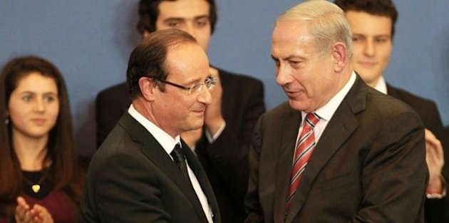Benjamin Netanyahou et Franois Hollande