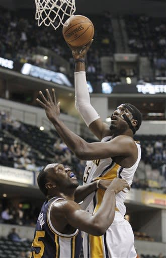 Granger leads Pacers past Jazz 104-99