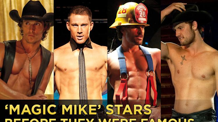 Magic Mike before they were stars