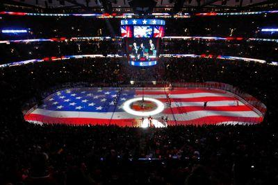 The NHL does the best national anthems in sports