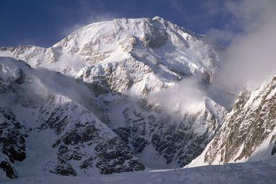 Mount McKinley is being renamed Denali by President Obama