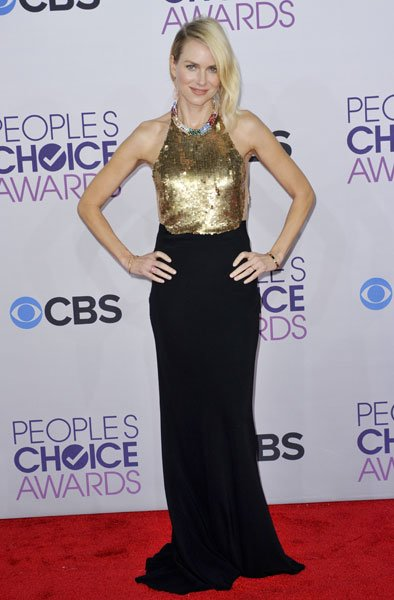 Best dressed: Naomi Watts Image © Rex