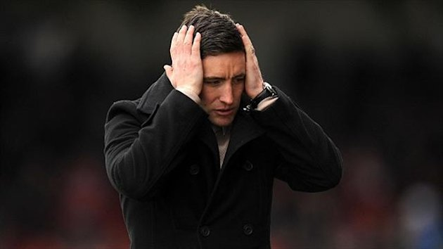 Lee Johnson felt Oldham were hard done by at Peterborough