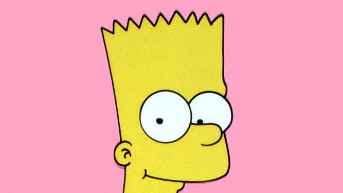 Bart Simpson (voiced by Nancy Cartwright) stars in The Simpsons on FOX.