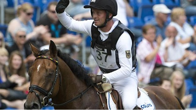 Equestrianism - Germany win at home