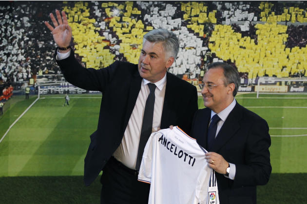 Spain Soccer Real Madrid Ancelotti