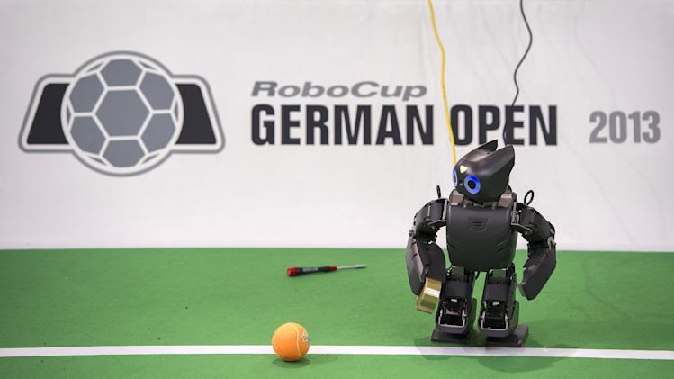 Robocup German Open Robots Soccer Tournament 2013