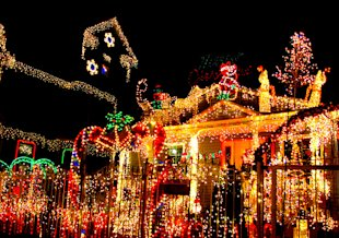 Is this a energy saving holiday light display?