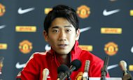 Shinji Kagawa was on target for Manchester United - his first goal for the club