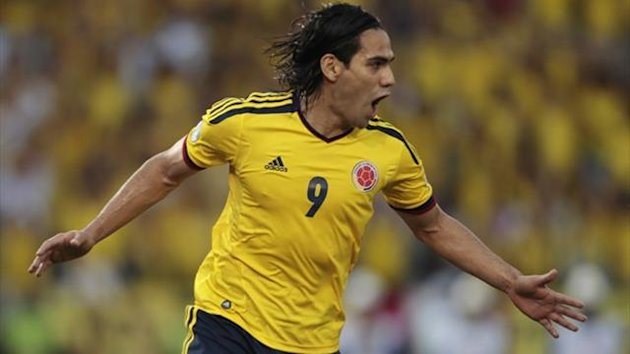 Radamel Falcao, Colombia (Reuters)