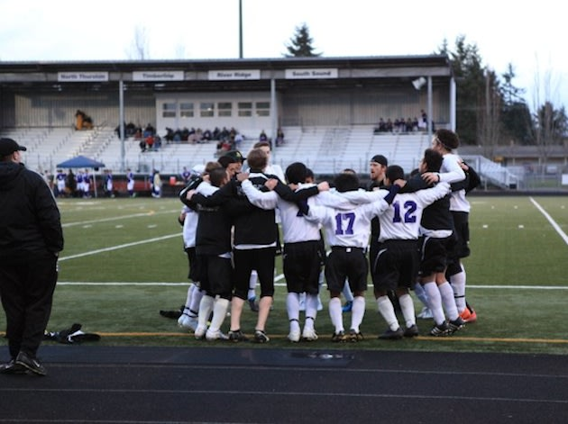 The North Thurston boys soccer team — Facebook
