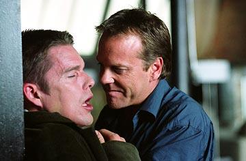 Ethan Hawke and Kiefer Sutherland in Warner Bros. Taking Lives