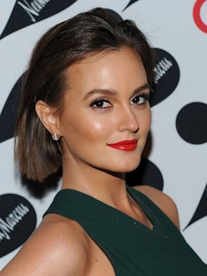 """FILE - In a Wednesday Nov. 28, 2012 file photo, actress Leighton Meester attends the Target and Neiman Marcus holiday collection launch in New York. The former """"Gossip Girl"""" star will make her Broadway debut in 2014 as a beautiful temptress in the revival of """"Of Mice and Men."""" Producers said Monday, Dec. 9, 2013 that Meester will join James Franco and Chris O'Dowd in the story about an unlikely friendship between two migrant field workers in California during the Great Depression. (Photo by Evan Agostini/Invision/AP, File)"""