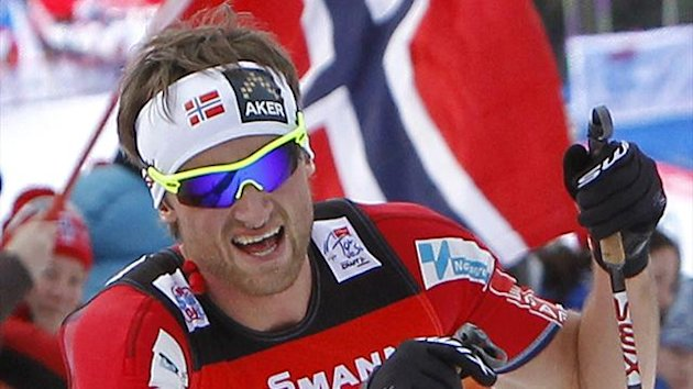 Petter Northug of Norway (Reuters)
