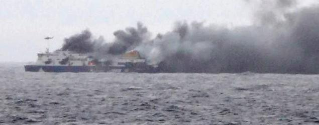 1 dead, 1 injured in Greek ferry disaster