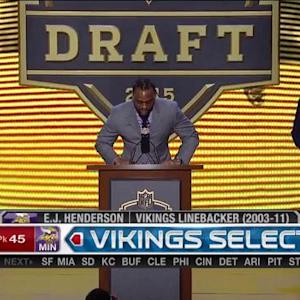 Minnesota Vikings pick linebacker Eric Kendricks No. 45 in 2015 NFL Draft