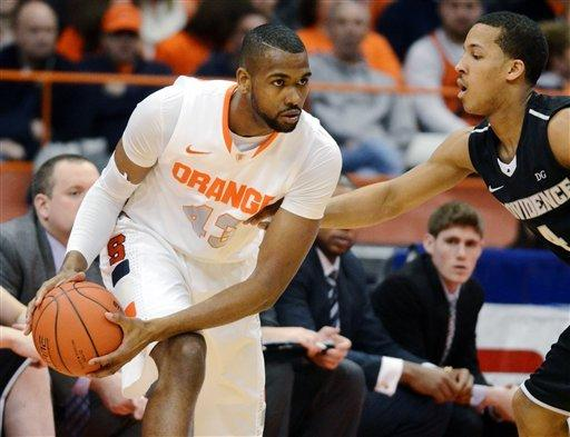 No. 8 Syracuse beats Providence 84-59
