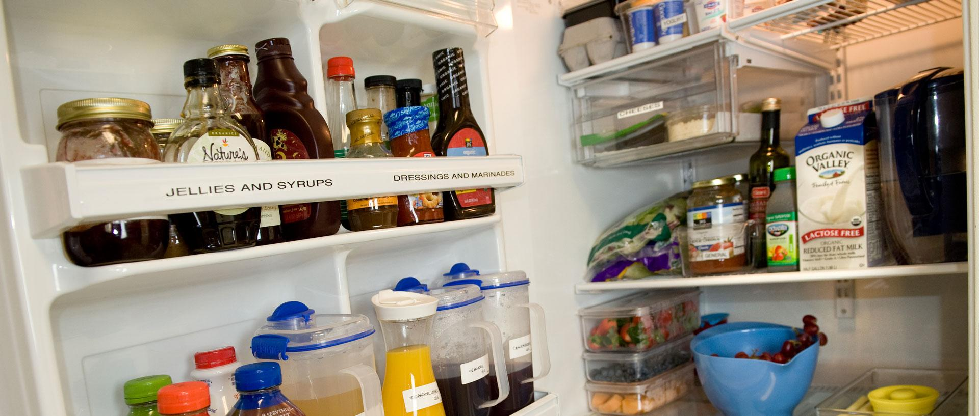 Organize Your Fridge for Healthy Eating This Holiday