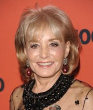 AP Photo/Evan Agostini: Barbara Walters ends Oscar-night special after 29 years.