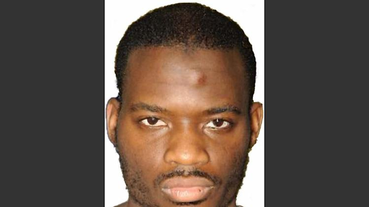 FILE - This undated file image released by the Metropolitan Police on Dec. 19, 2013 shows Michael Adebolajo. Adebolajo was found guilty of slaying 25-year-old soldier Lee Rigby and was sentenced to life; accomplice Michael Adebowale received a minimum of 45 years. (AP Photo/Metropolitan Police, File)