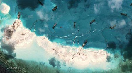 Images show rapid Chinese progress on new South China Sea airstrip