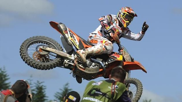 Motocross MX1 2012 Tony Cairoli