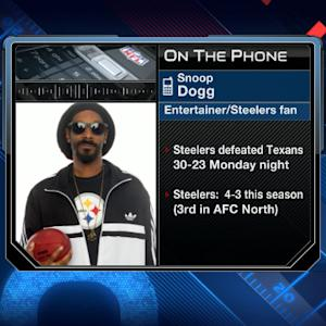 Snoop Dogg on Pittsburgh Steelers: 'The defense was click clackin'