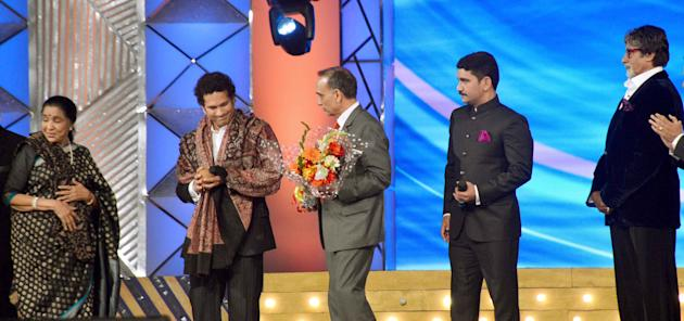 at the 2014 Umang Police Show in Mumbai, January 20, 2014.