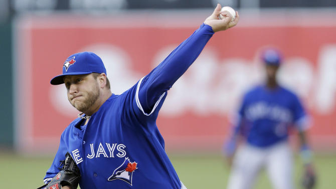Buehrle pitches Blue Jays to 5-0 win over A's